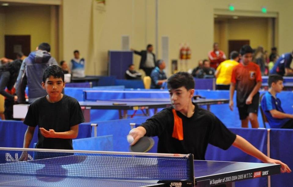 Gran participación misionera en el Nacional de Tenis de Mesa de Salta
