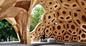 Pabellones de diseño con madera son una tendencia en la arquitectura del mundo