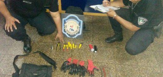 Banda de los barreteros: uno de los detenidos es un ex policía separado de la fuerza en 2015 por hechos de robo en locales comerciales