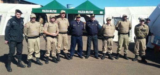 Policías de Misiones y Brasil despliegan un intenso operativo de seguridad en la frontera
