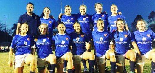 CAPRI se quedó con la 1ra fecha del regional femenino de rugby