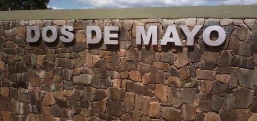 Choque entre una moto y un auto en Dos de Mayo dejó dos heridos graves