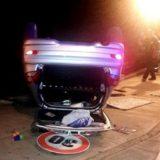 Fachinal: un motociclista perdió el control de su rodado, cayó a la ruta 105 y lo atropelló un coche que venía en sentido contrario
