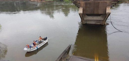 Puente Goya-Esquina: es de Andresito la pareja que cayó al arroyo Guazú y la mujer se salvó porque nadó hasta la orilla