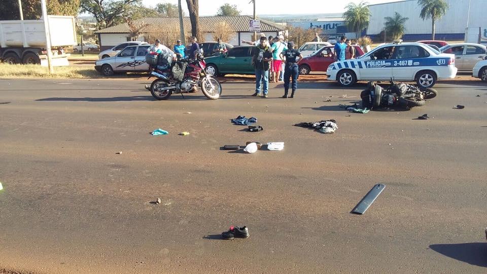 Garupá: motociclista murió tras ser impactado por un auto en la ruta 12
