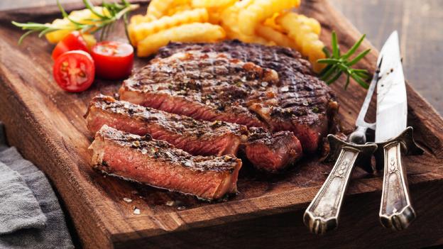 carne de res cruda segura