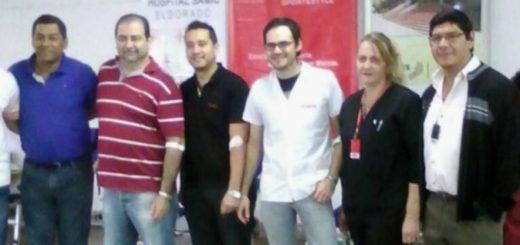 Realizaron importante campaña de donación de sangre en Dass Eldorado