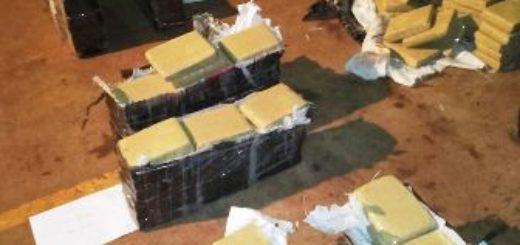 En otro golpe al narcotráfico la Policía de la provincia de Misiones incautó 300 kilos de marihuana