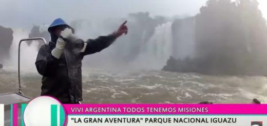 Las Cataratas del Iguazú nuevamente en el cable nacional