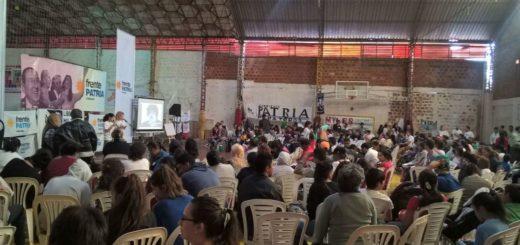 El sábado se reunió el Plenario de la Militancia Nacional y Popular organizado por el Frente Patria