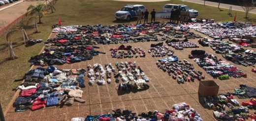 Contrabando: Prefectura secuestró un cargamento de mercadería sin aval aduanero en Posadas