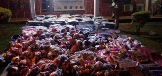 Iguazú: sorprenden a traficantes bajando juguetes contrabandeados desde un bote
