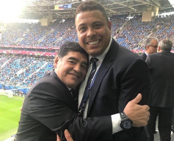 «¡Hoy faltamos nosotros!»: la broma de Maradona en la final de la Copa Confederaciones