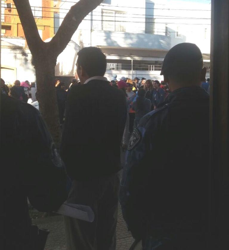 Más de 100 personas se movilizaron para reclamar la absolución de un hombre juzgado por violación en Posadas