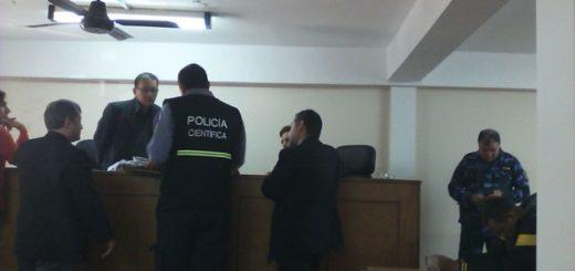 """Juicio por homicidio en Eldorado: perito sostuvo que Oscar Bareiro fue """"derribado"""" por el camión de su ex suegro"""