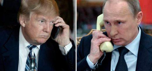 Trump y Putin se reunirán por primera vez el 7 de julio en Hamburgo