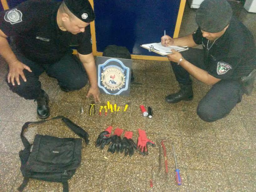 """Posadas: la Policía capturó a una banda que presuntamente robaba bajo la modalidad """"barreteros"""""""