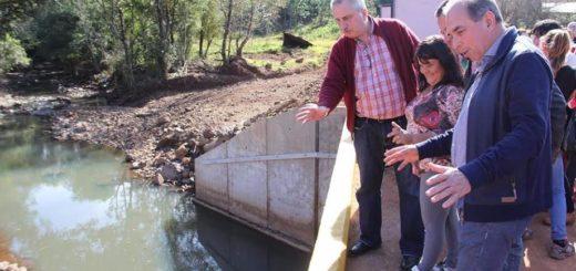 Vialidad habilitó el puente Gamelita en 25 de Mayo