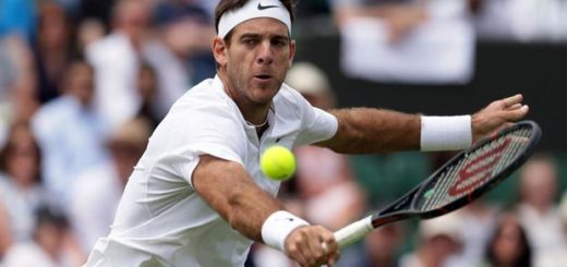 Juan Martín del Potro debutó con un triunfo en Wimbledon: sufrió para ganarle al australiano Kokkinakis