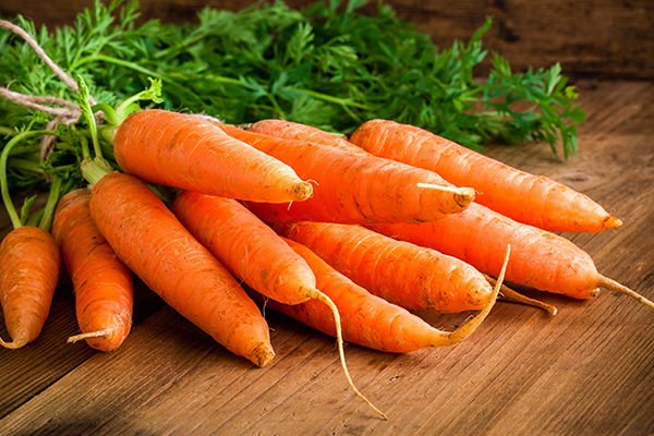mg de betacaroteno en zanahorias y diabetes
