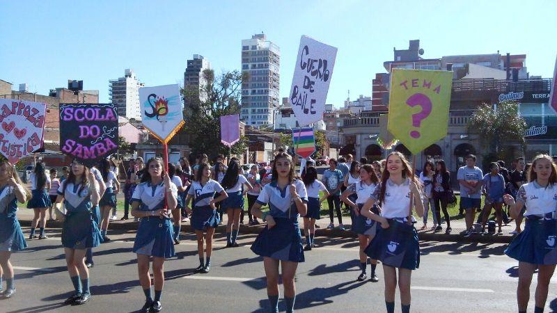 Estudiantina 2017: Mañana es la primera prueba piloto en la costanera de Posadas, mirá el orden de salida de los colegios