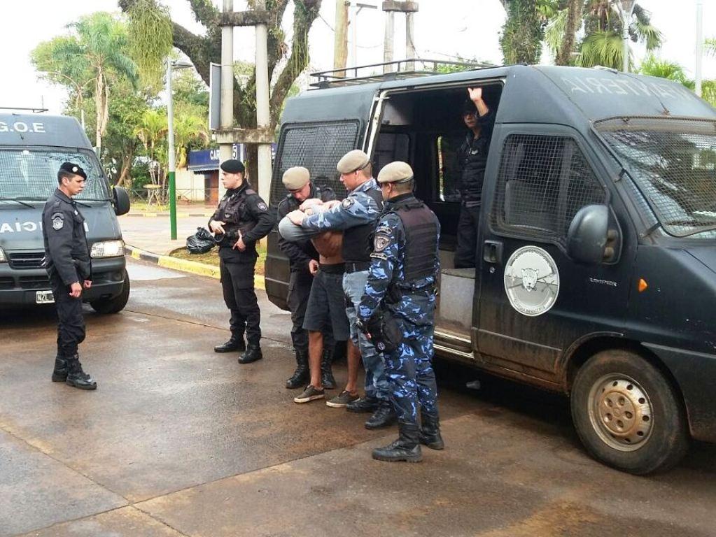 Decomisan marihuana fraccionada para la venta en el megaoperativo policial en Puerto Iguazú