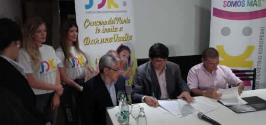 La municipalidad de Posadas firmó un convenio con la Fundación Demetrio Koropeski
