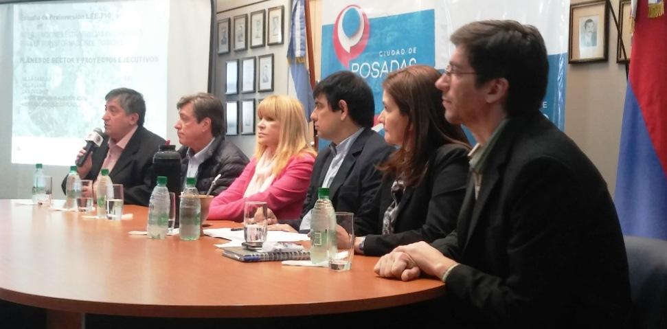 Profesionales locales desarrollarán propuestas para mejorar las condiciones urbanas en cinco áreas de Posadas
