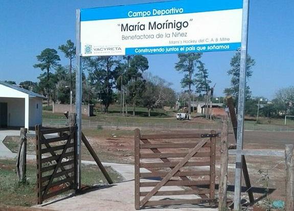 Mañana habilitarán nuevas instalaciones en el campo deportivo «María Morínigo»