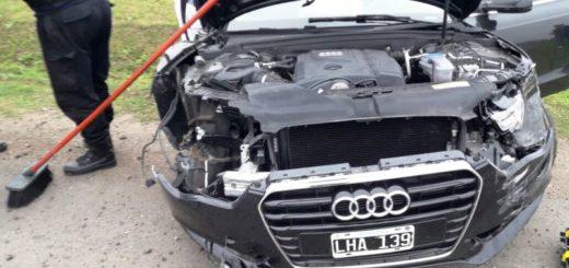 """El hermano de Messi se pegó un """"terrible palo"""" con su Audi en una localidad de Rosario"""