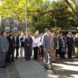 En un nuevo aniversario por la muerte de San Martín, Passalacqua pidió perdón por sus años de exilio