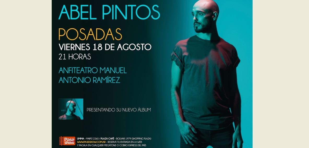 Abel Pintos se presentará en Posadas y Misiones Online sorteará entradas