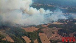 España: Más de 300 hectáreas afectadas por un incendio forestal en Barcelona