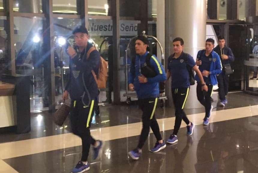 Boca ya está en Paraguay, donde jugará un amistoso con Cerro Porteño