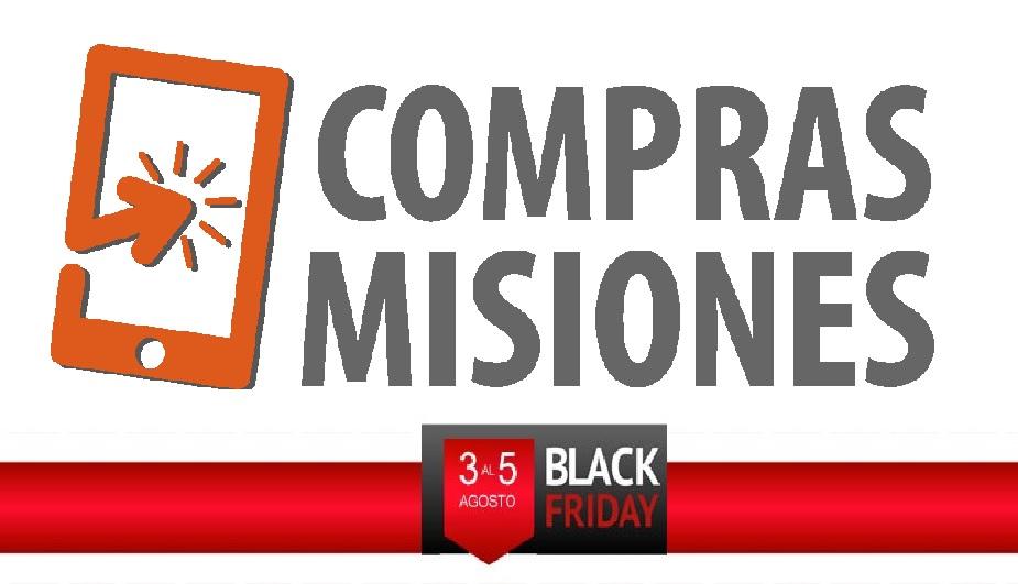 El Black Friday está en Compras Misiones: Descuentos en zapatillas, tratamientos corporales y de belleza, artículos de casa y jardín, libros y mucho más