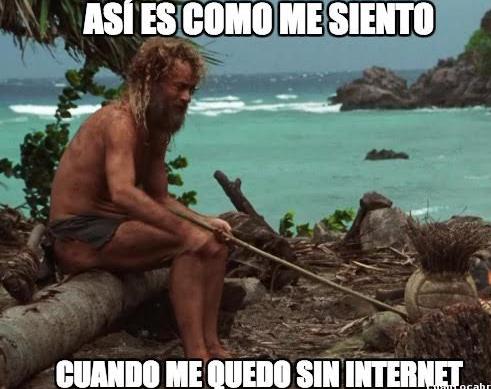 Ayer falló internet en todo el país y las redes explotaron con los memes