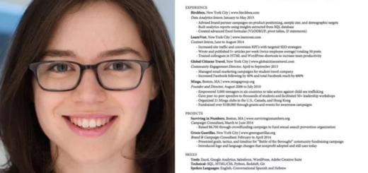 """En internet: Hizo el currículum """"perfecto"""" y reveló las 9 claves"""