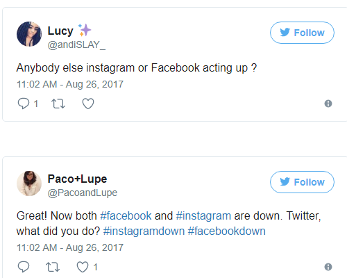 Caída mundial de Facebook e Instagram desató una lluvia de memes