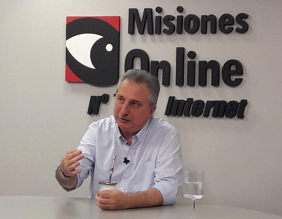 """Passalacqua: """"Todo lo que hace Misiones es gracias a su política tributaria que ni de lejos es la más pesada del país"""""""