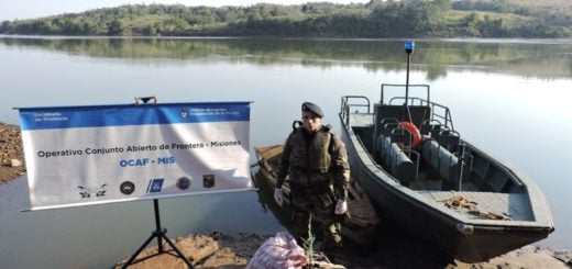 Marihuana sobre el agua: Prefectura secuestró más de 35 kilos de la droga en Puerto Rico