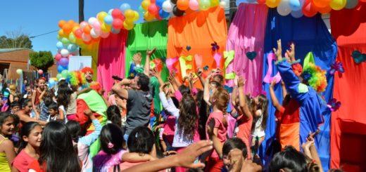 Pozo Azul disfrutó un Día del Niño a pleno y cargado de diversión