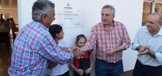 Passalaqcua inauguró obra de agua potable y un salón comunitario en Concepción de la Sierra