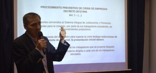 Especialista disertó sobre los mecanismos preventivos de crisis en las empresas