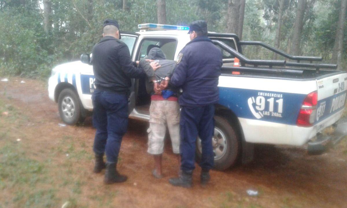 Detienen al presunto autor de dos asaltos en Eldorado