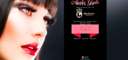 La maquilladora del concurso Miss Mundo brindará cursos en Posadas: Si sos cliente de Compras Misiones tenés precios rebajados y pagás en cuotas con tarjeta