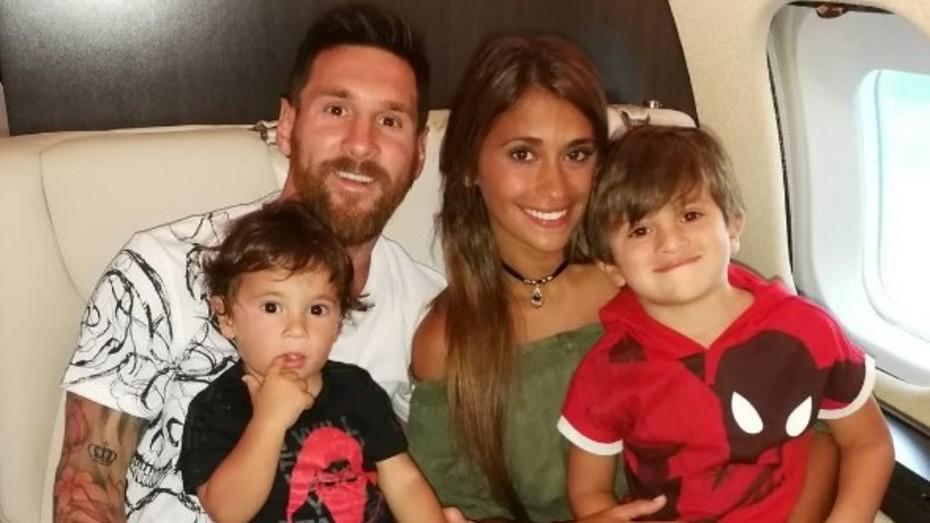 Messi y Antonela Roccuzzo estarían en la dulce espera de su tercer hijo