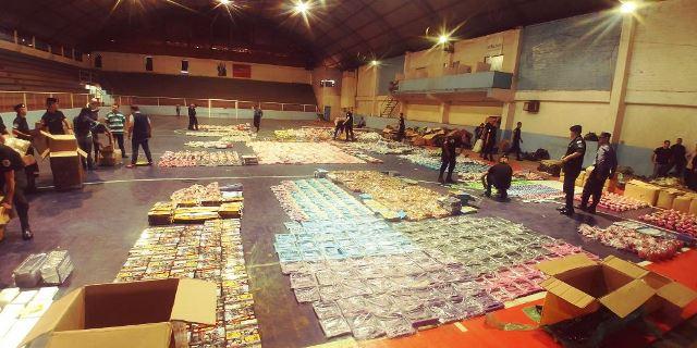 Puerto Iguazú: la Policía de Misiones decomisó contrabando por más de un millón de pesos.