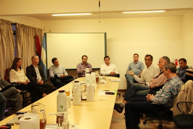 Funcionarios nacionales y provinciales avanzaron en mecanismos para mejorar el sector yerbatero