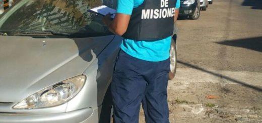 En Posadas secuestraron automóvil que había sido denunciado como robado