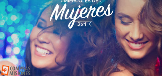 Hoy Mujeres 2x1 en el Catamarán de Posadas: Contratalo en www.comprasmisiones.com.ar y pagá en cuotas con tarjeta